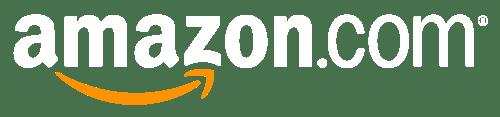 amazon logo white